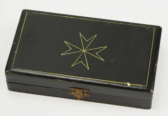 Prussia: Knights order of St. John of Jerusalem, Balley Brandenburg, knight of Honour and consecration cross, in a case. - photo 7