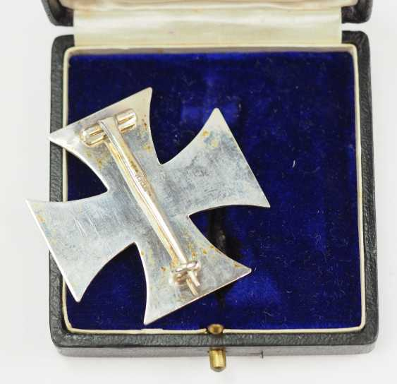 Prussia: Iron Cross, 1914, 1. Class, in a case - KAG. - photo 2