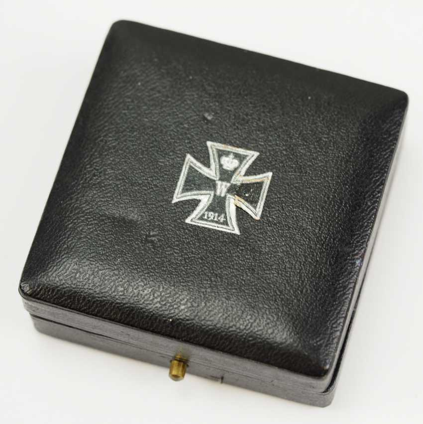 Prussia: Iron Cross, 1914, 1. Class, in a case - KAG. - photo 4