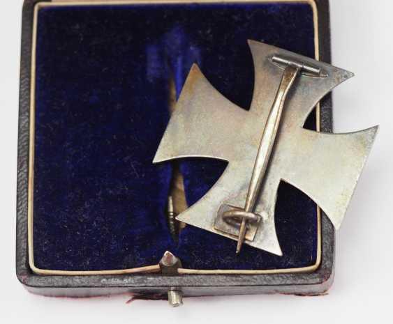 Prussia: Iron Cross, 1914, 1. Class, in a case. - photo 3