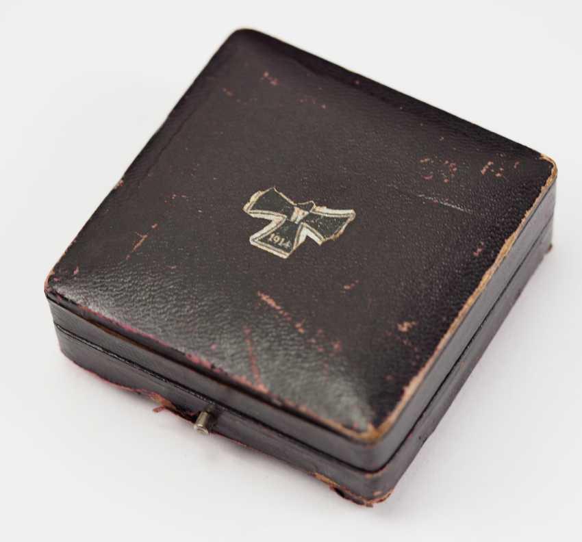 Prussia: Iron Cross, 1914, 1. Class, in a case. - photo 4