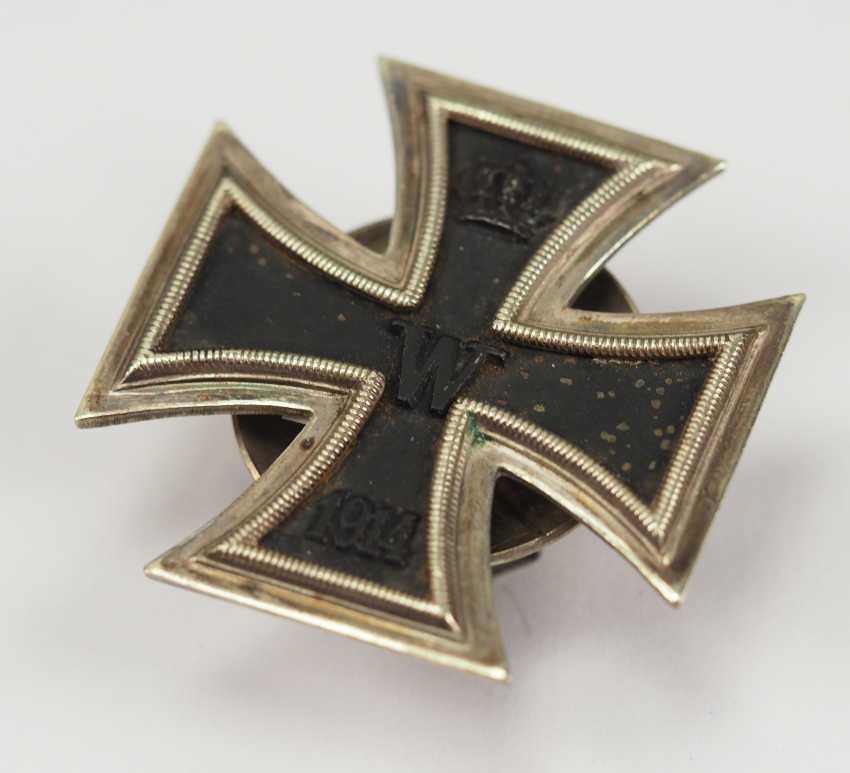 Prussia: Iron Cross, 1914, 1. Class, on Screw back L/13. - photo 2