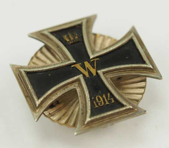 Prussia: Iron Cross, 1914, 1. Class, on Screw plate. - photo 2