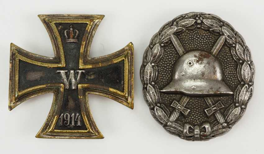 Prussia: Iron Cross, 1914, 1. Class. - photo 1
