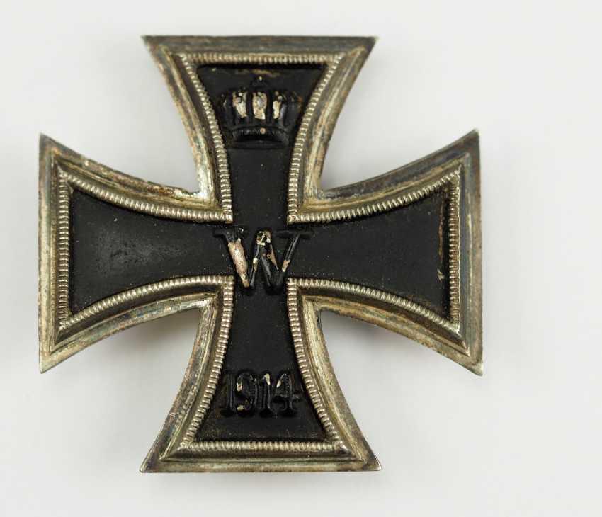 Prussia: Iron Cross, 1914, 1. Class. - photo 1