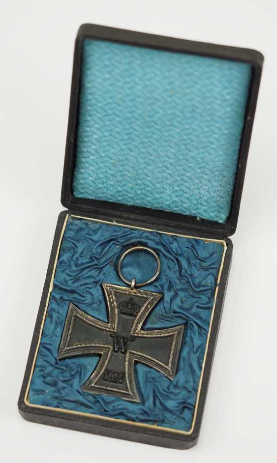 Prussia: Iron Cross, 1914, 2. Class, in a case - G. - photo 1