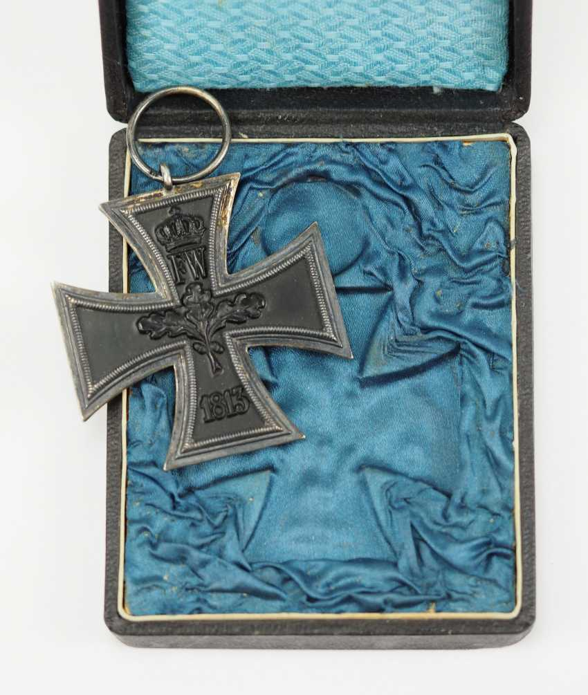 Prussia: Iron Cross, 1914, 2. Class, in a case - G. - photo 2