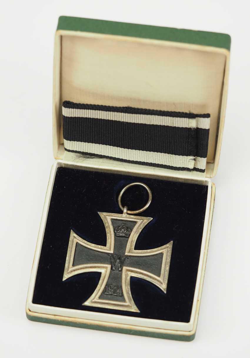 Prussia: Iron Cross, 1914, 2. Class, in a case. - photo 1