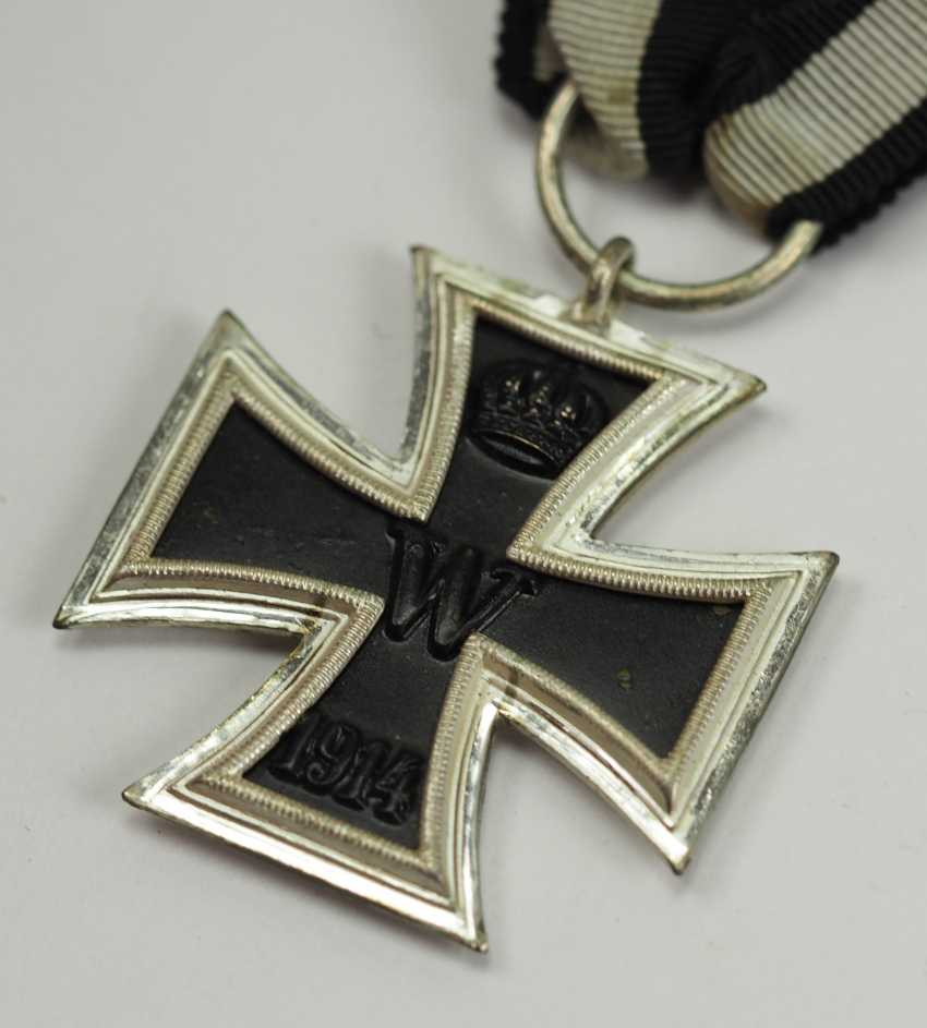 Prussia: Iron Cross, 1914, 2. Class - Prince Size. - photo 2