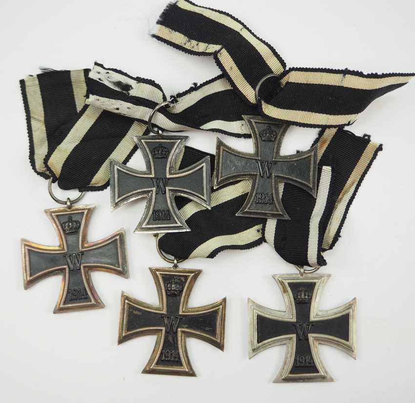 Prussia: Iron Cross, 1914, 2. Class - 5 Copies. - photo 1