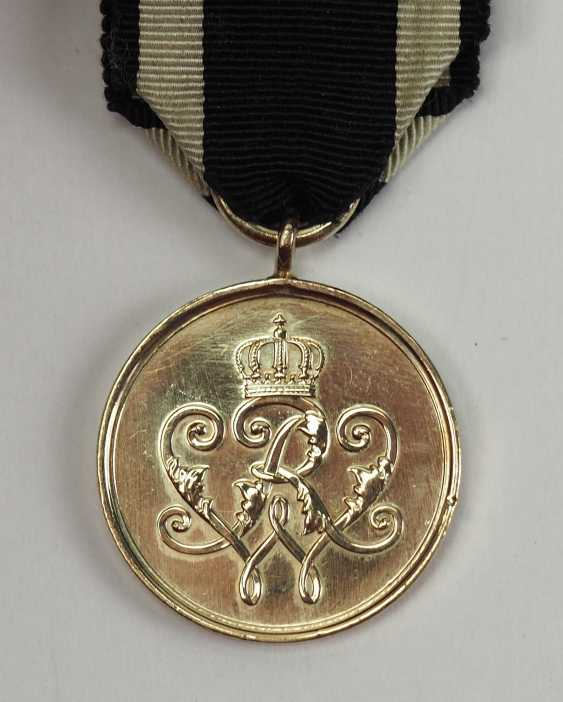 Prussia: warrior-medal of merit in Gold. - photo 1