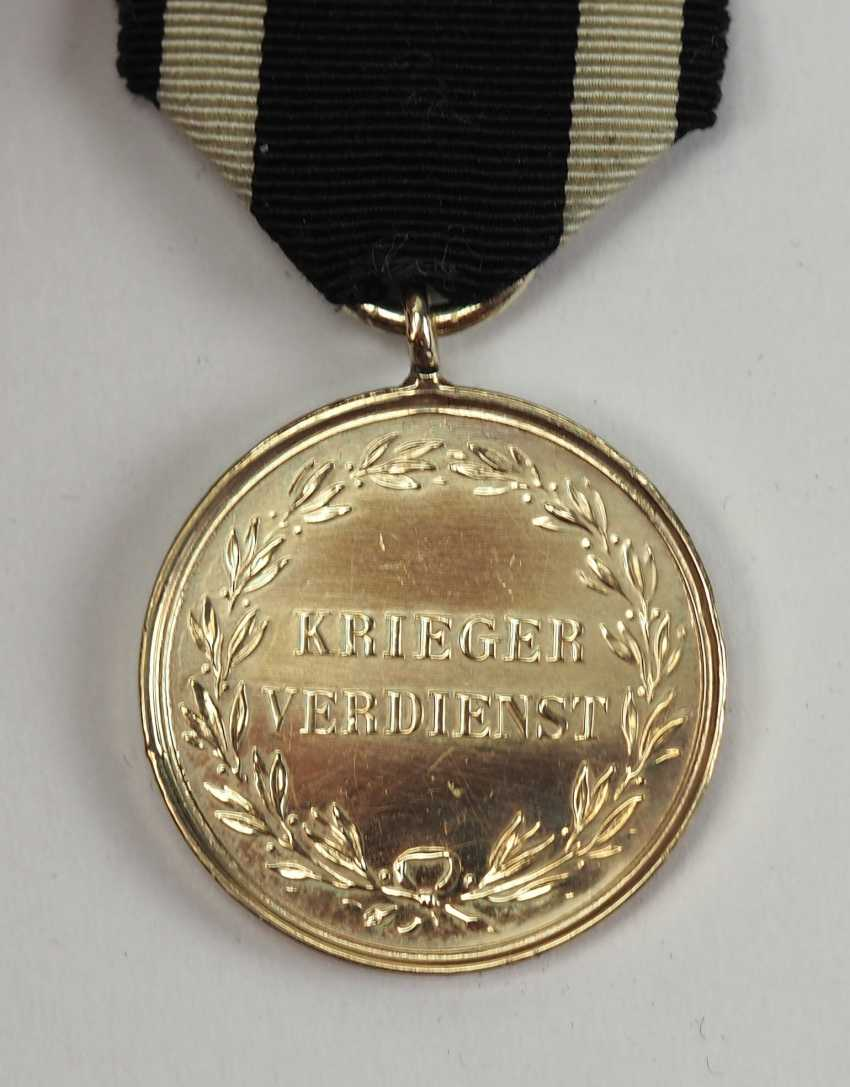 Prussia: warrior-medal of merit in Gold. - photo 2