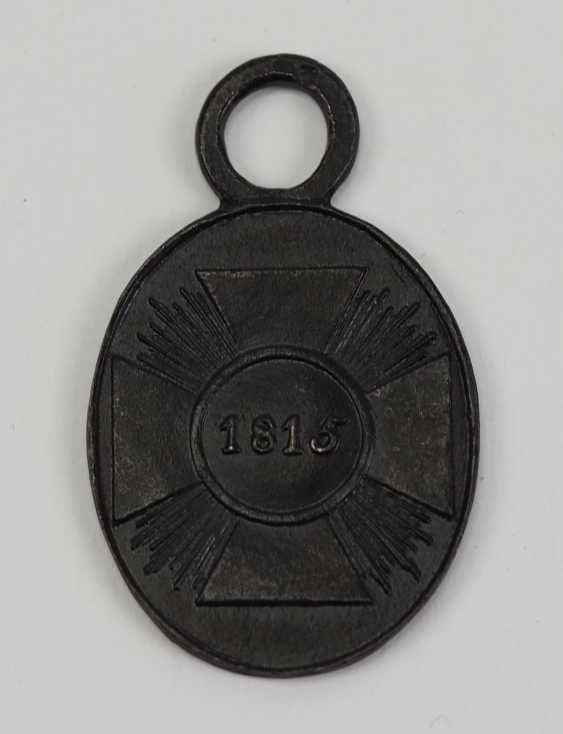 Prussia: War votive medal for non-fighters in 1815. - photo 1