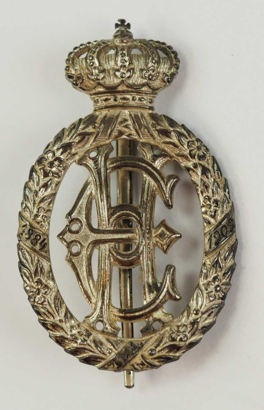 Reuss: as a reminder to the silver wedding anniversary in 1909, for princely guests. - photo 1