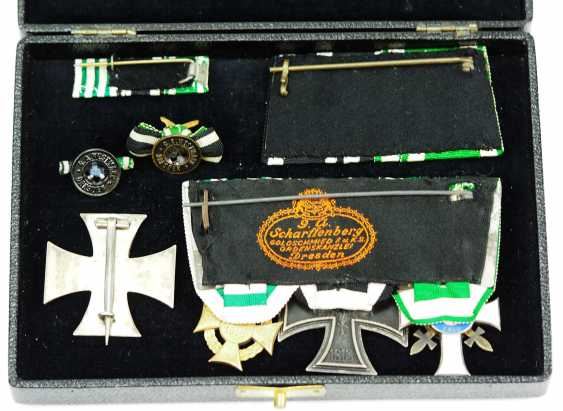 Saxony: estate of a front officer in a case. - photo 3