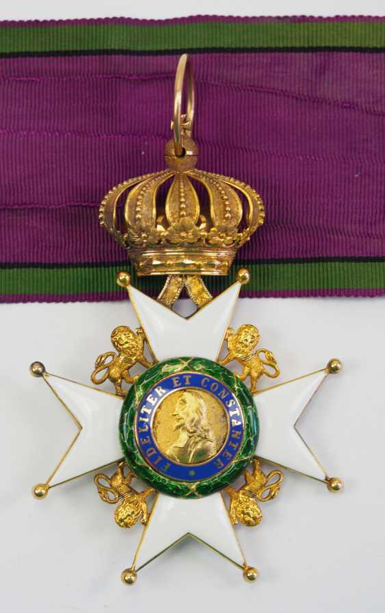 Saxon Duchies: Ducal Saxony Ernesti Order Of The House, 2. Model (1864-1935), Comtur Cross. - photo 1