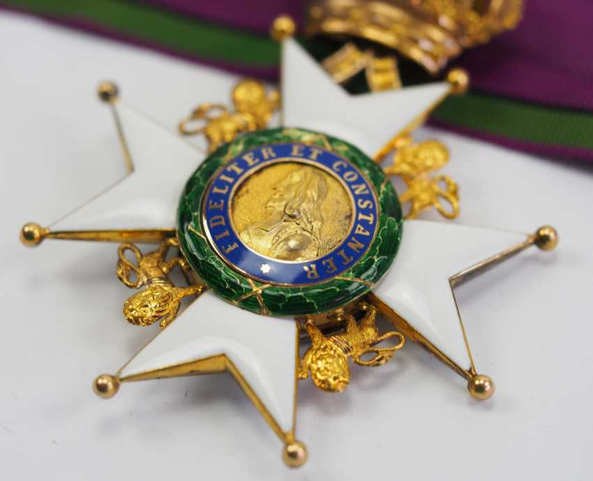 Saxon Duchies: Ducal Saxony Ernesti Order Of The House, 2. Model (1864-1935), Comtur Cross. - photo 2