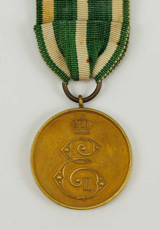 Saxe-Altenburg Bravery Medal. - photo 1