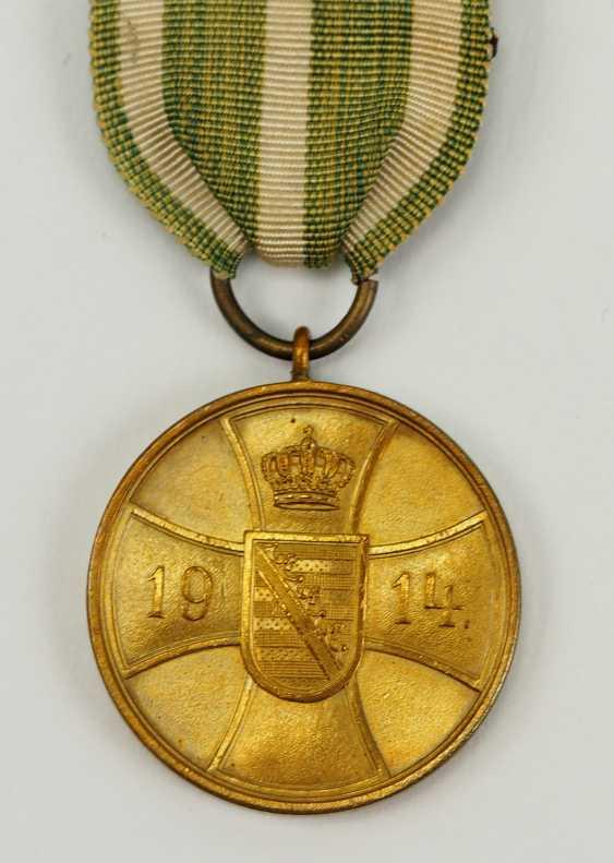 Saxe-Altenburg Bravery Medal. - photo 2