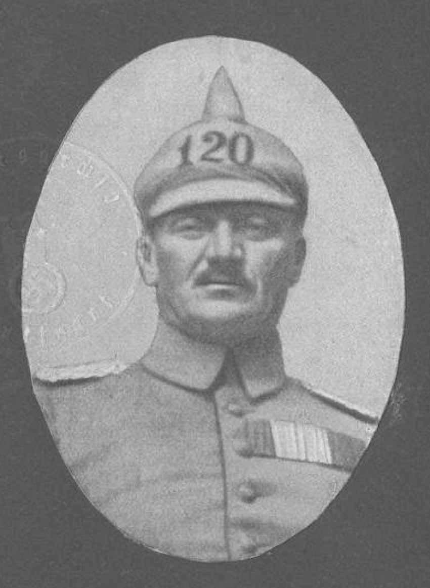 "Württemberg: box, buckle, major General Alfred Breyer commander of the infantry-Regiment ""Kaiser Wilhelm, king of Prussia,"" (2. Württembergisches) Nr. 120. - photo 3"