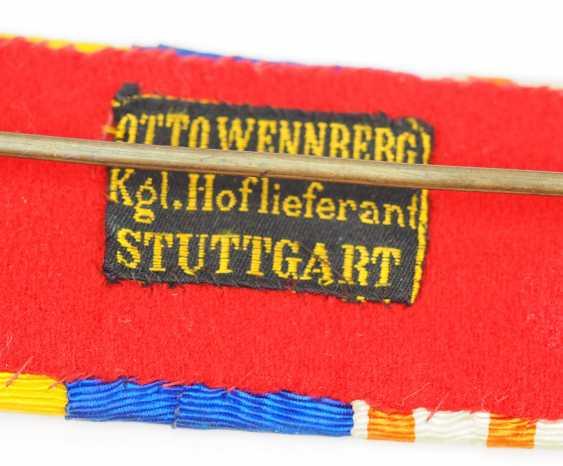 "Württemberg: box, buckle, major General Alfred Breyer commander of the infantry-Regiment ""Kaiser Wilhelm, king of Prussia,"" (2. Württembergisches) Nr. 120. - photo 5"