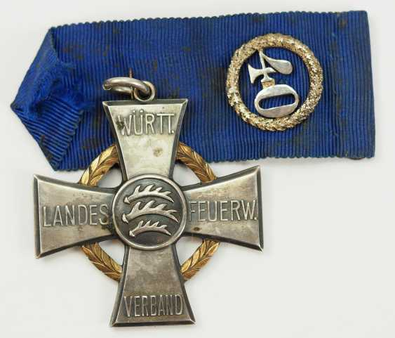 Württemberg: order of merit for 40 years of service to the country fire Association. - photo 3