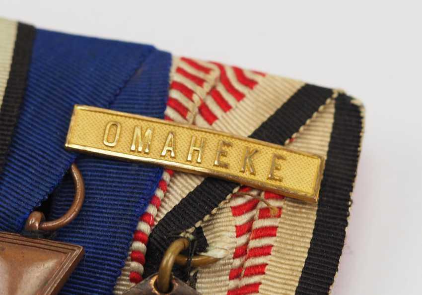 German Empire: Medalbar of a veteran of German South West Africa. - photo 2