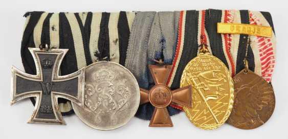 German Empire: Medalbar of a veteran of German South West Africa. - photo 1