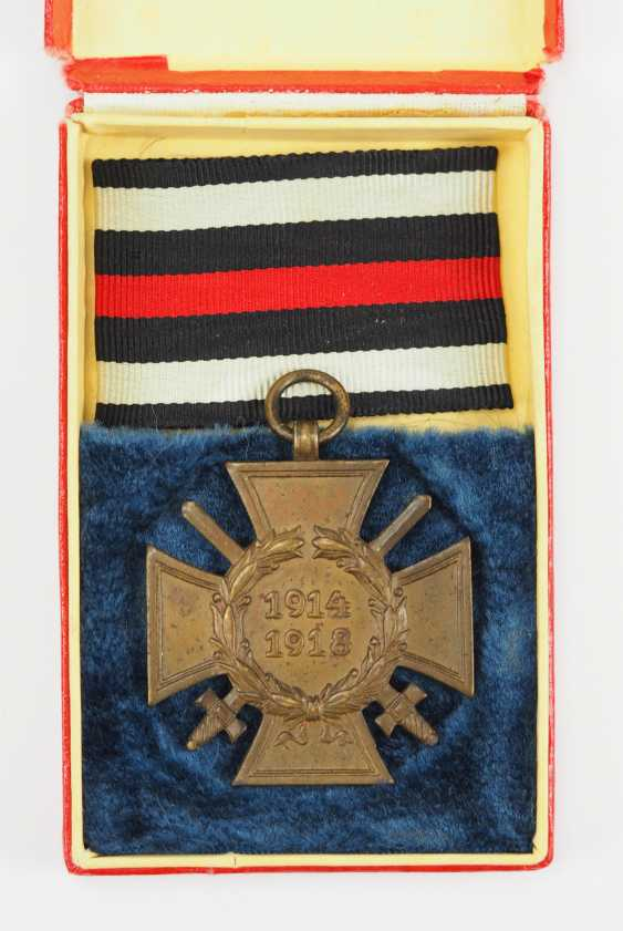 German Empire: honour cross for front fighters in the case of 1914-1918. - photo 1