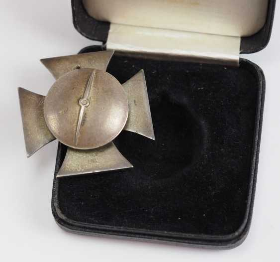 Iron Cross, 1939, 1. Class, on Screw plate, in a case - L/18. - photo 3