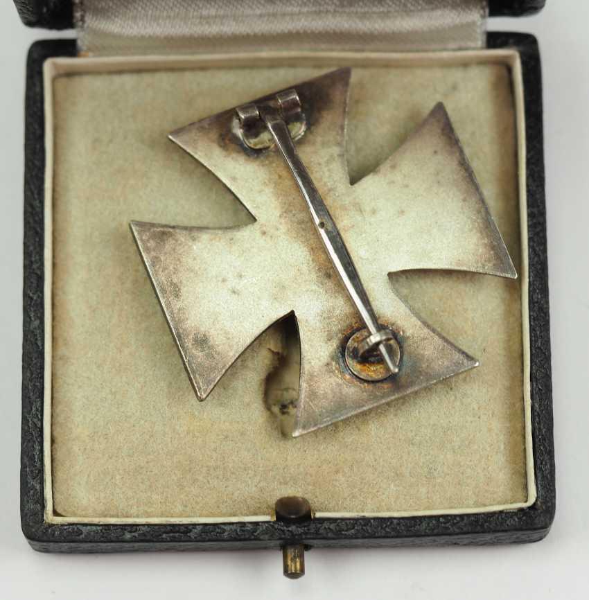 Iron Cross, 1939, 1. Class, in a case - Wiedmann. - photo 3