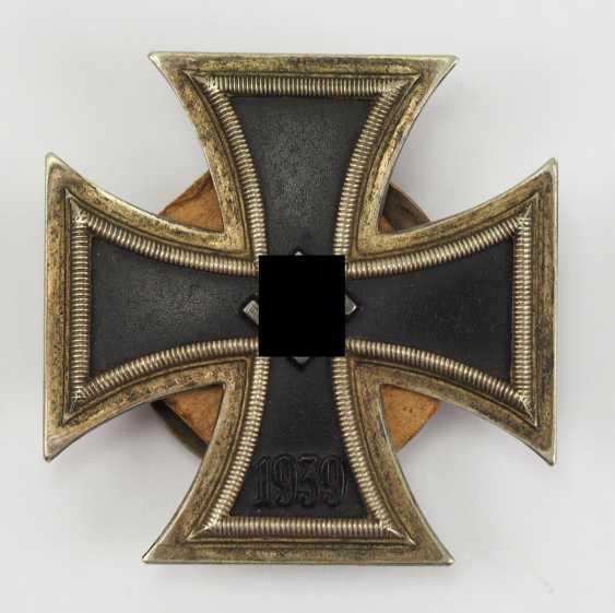 Iron Cross, 1939, 1. Class, on Screw plate. - photo 1