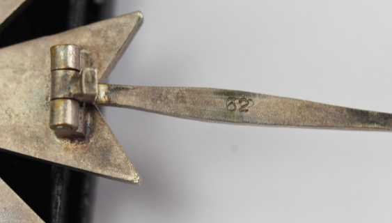 War merit cross, 1. Class with swords, in a case - 62. - photo 5