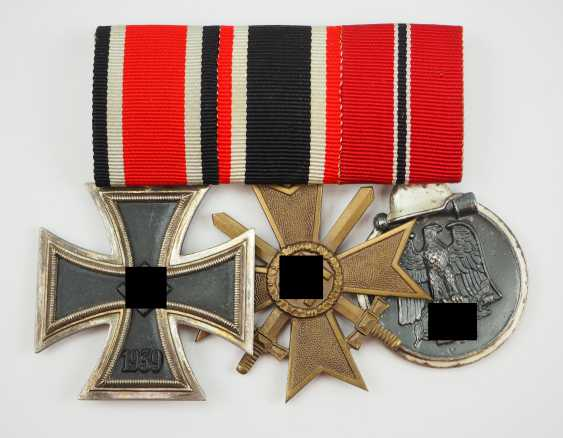 Medalbar with 3 awards. - photo 1
