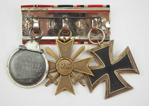 Medalbar with 3 awards. - photo 2