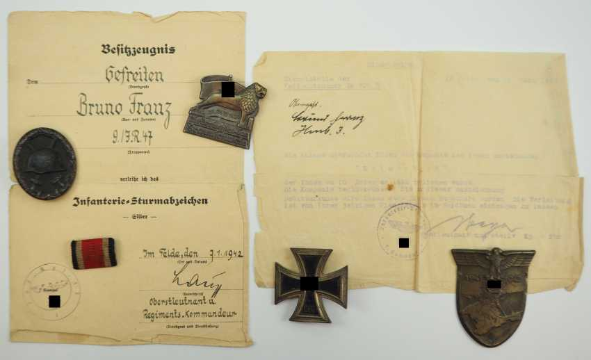Estate of a lance corporal of the 9./ Infantry-Regiment 47. - photo 1