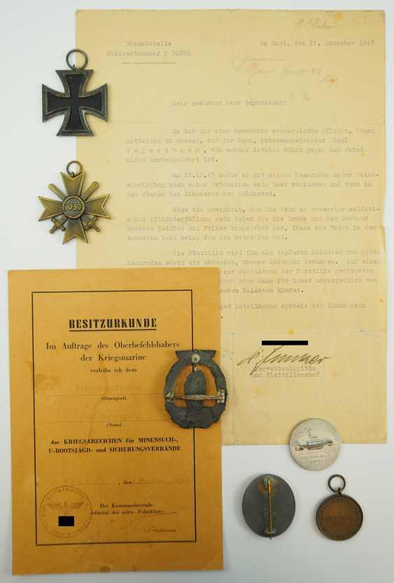 Estate of a fallen sailor corporal. - photo 2