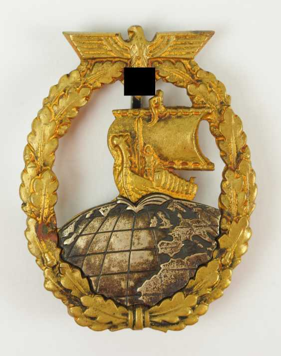 Auxiliary Cruiser War Badge - Junker. - photo 1