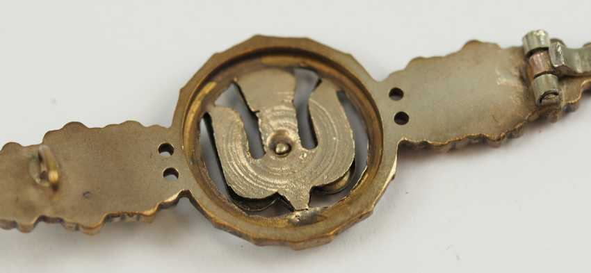 Front flying clasp for fighters in silver. - photo 4