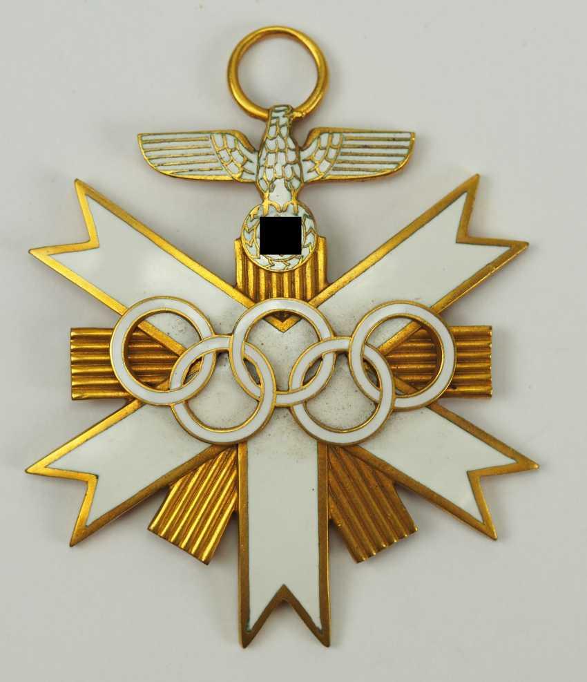German Olympia Badge Of Honor, 2. Class. - photo 1