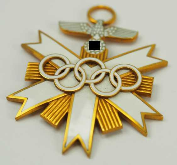 German Olympia Badge Of Honor, 2. Class. - photo 2
