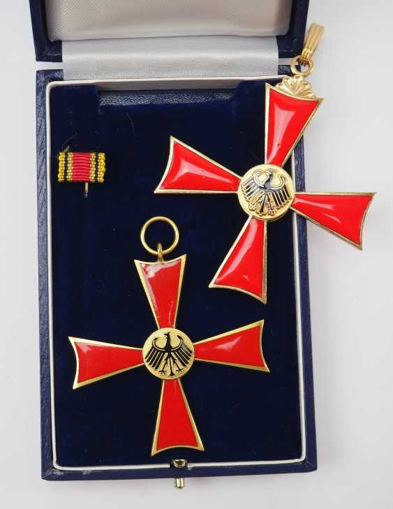 Federal order of merit, Grand cross of merit and cross of merit on ribbon. - photo 1