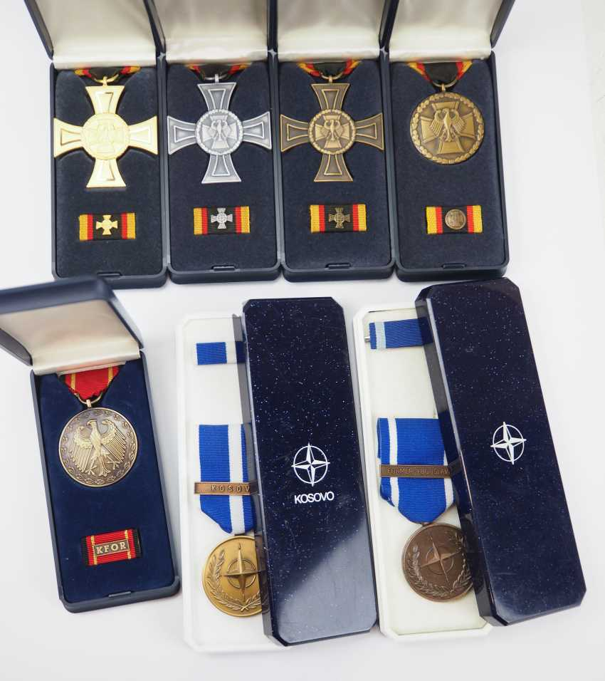 Germany: collection of the use of medal in a case. - photo 1