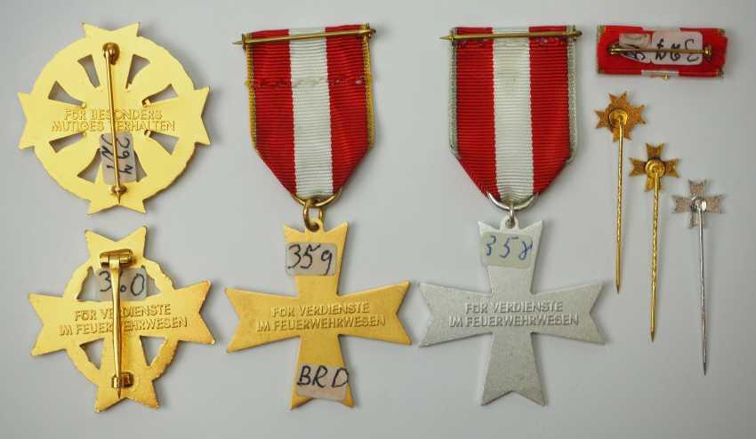 Rhineland-Palatinate: Lot Fire Department-Award, 2. Model. - photo 2