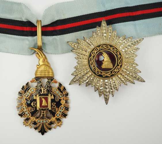 Albania: Besa-Order, 2. Model (1940-1944), Grand Officer's Set. - photo 1