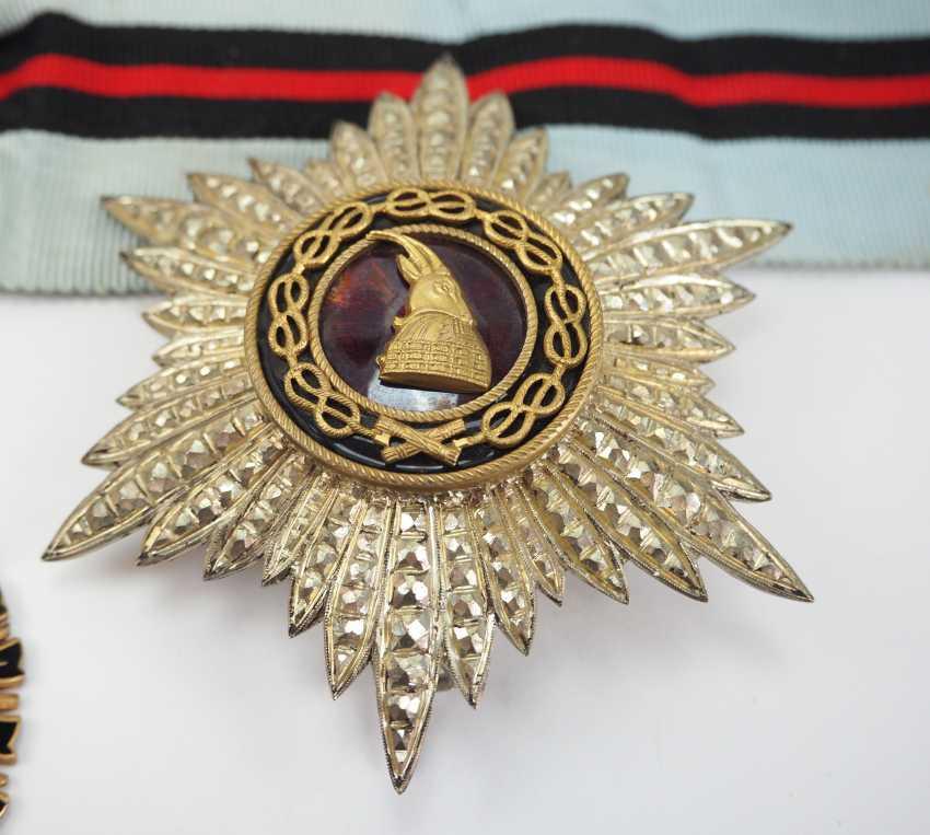 Albania: Besa-Order, 2. Model (1940-1944), Grand Officer's Set. - photo 2