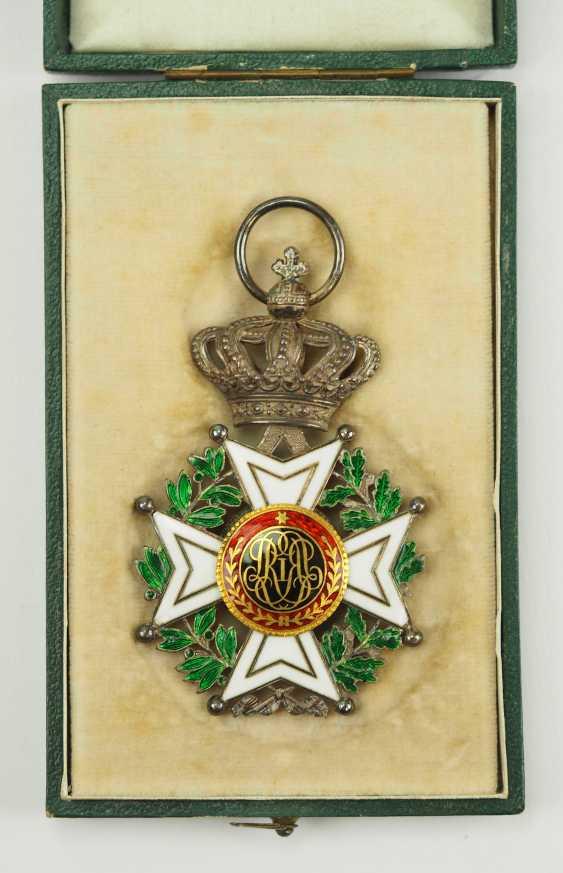 Belgium: Leopold-Order, 2. Model (1839-1951), knights cross, in case. - photo 2