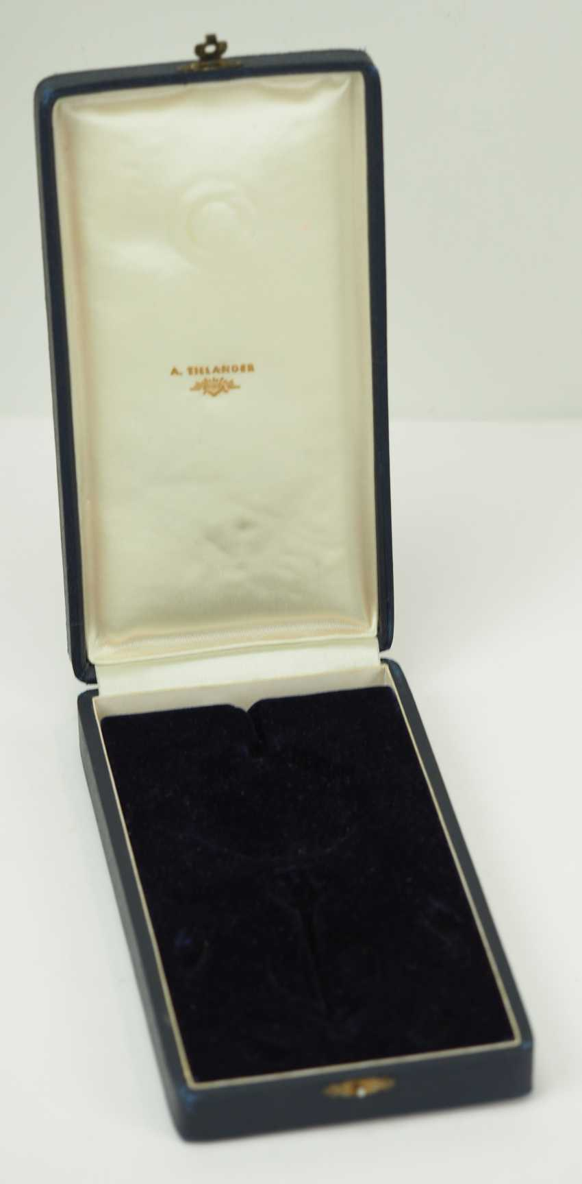 Finland: order of the White Rose, 2. Model (from 1936), Grand officer set case. - photo 2