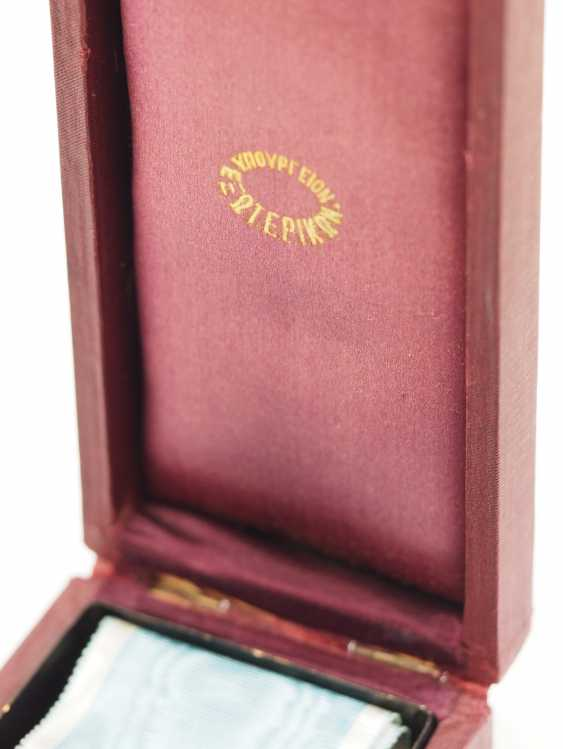 Greece: Savior Order, 2nd Edition (1863-1974), Comtur cross, in a case. - photo 2
