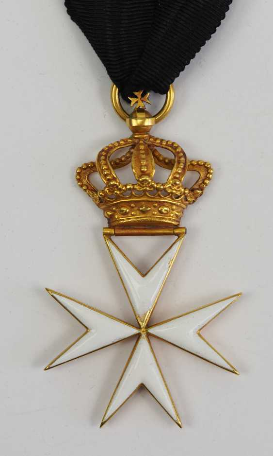 Great Britain: order of St. John (1831-1888), knight's decoration. - photo 2